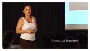 TEDx Kežmarok 2013 - Miroslava Kernová